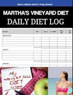 Martha's Vineyard Diet Daily Diet Log