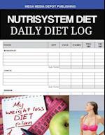 Nutrisystem Diet Daily Diet Log