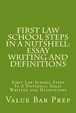 First Law School Steps in a Nutshell