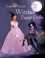 Dollys and Friends, Witches Paper Dolls, Wardrobe No