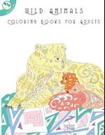 Wild Animals Coloring Books for Adults