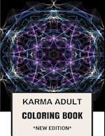 Karma Adult Coloring Book