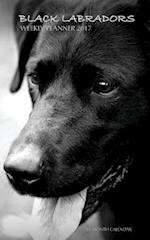 Black Labradors Weekly Planner 2017