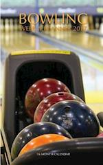 Bowling Weekly Planner 2017