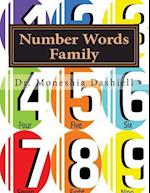 Number Words Family