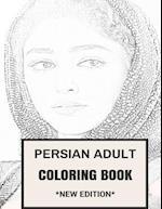 Persian Adult Coloring Book
