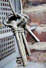 Vintage Keys on a Key Ring Journal