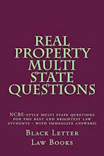 Real Property Multi State Questions