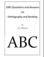 1001 Questions and Answers on Orthography and Reading