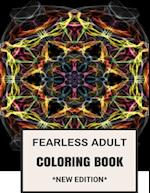 Fearless Adult Coloring Book