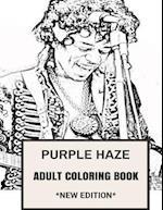 Purple Haze Adult Coloring Book