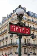 Paris Metro Entrance Sign Journal