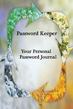 Password Keeper Your Personal Password Journal for Web Addresses, Passwords