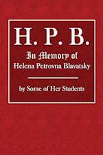 H. P. B.