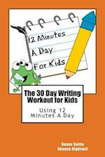 The 30 Day Writing Workout for Kids - Orange Version