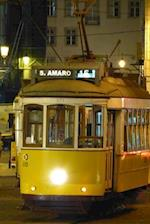 White and Yellow Tram in Lisbon Portugal Journal