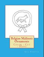 Belgian Malinois Ornaments