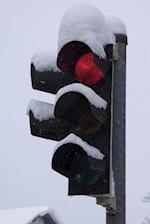 Snow on a Traffic Light Journal