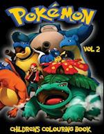 Pokemon Children's Colouring Book Volume 2