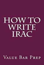 How to Write Irac