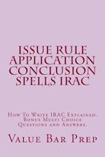 Issue Rule Application Conclusion Spells Irac
