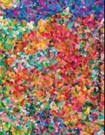 2017 Rainbow Dot Painting Monthly Planner