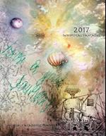 2017 Whimsical Fantasties Monthly Academic Planner