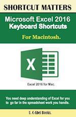 Microsoft Excel 2016 Keyboard Shortcuts for Macintosh
