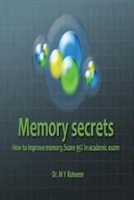 Memory Secrets, Score 95% in Academic Exam