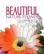 Beautiful Nature Flower Coloring Book - Vol.1