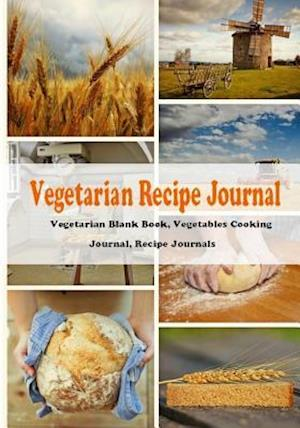 Vegetarian Recipe Journal af T. Thaphada Journal