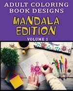 Mandala Adult Coloring Book Designs