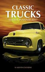 Classic Trucks Weekly Planner 2017