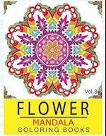 Flower Mandala Coloring Books Volume 3