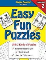 Easy Fun Puzzles, Volume 2
