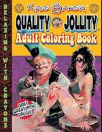 Quality Jollity Adult Coloring Book