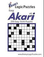 Brainy's Logic Puzzles Easy Akari