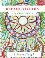 Dream Catcher Coloring Book for Adults and Kids