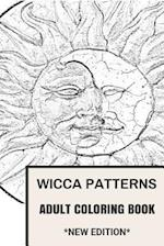 Wicca Patterns Adult Coloring Book