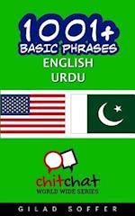 1001+ Basic Phrases English - Urdu