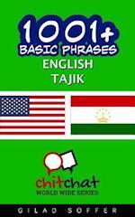 1001+ Basic Phrases English - Tajik