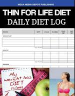 Thin for Life Diet Daily Diet Log