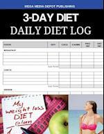 3-Day Diet Daily Diet Log