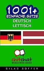 1001+ Einfache Satze Deutsch - Lettisch