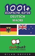 1001+ Einfache Satze Deutsch - Maori