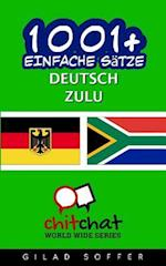 1001+ Einfache Satze Deutsch - Zulu