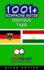 1001+ Einfache Satze Deutsch - Tajik
