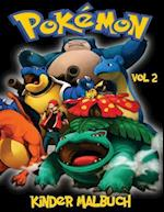 Pokemon Kinder Malbuch Volume 2