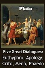 Five Great Dialogues of Plato