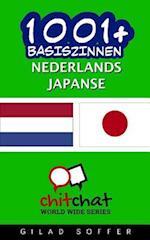 1001+ Basiszinnen Nederlands - Japanse